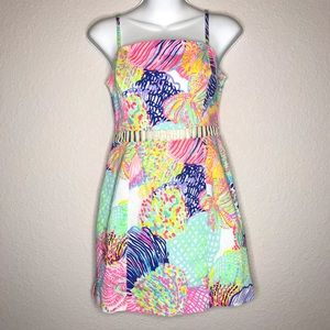 Lilly Pulitzer Ziggy Romper Dress size 2 EUC